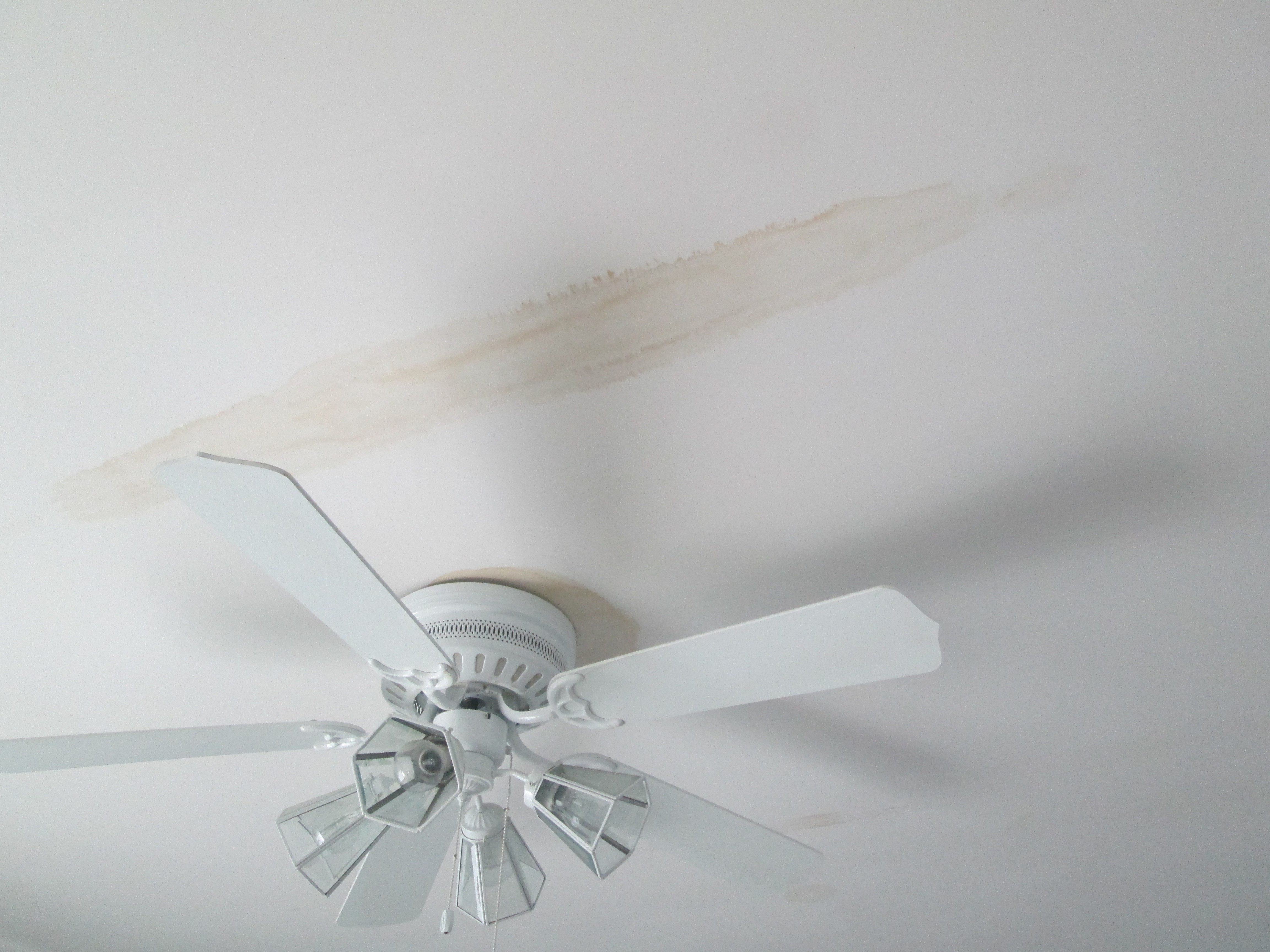How Do I Fix Water Stains On The Ceiling Mb Jessee