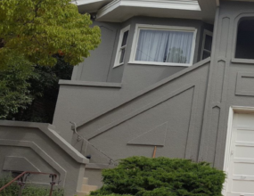 Painting Stucco Siding in the San Francisco Bay Area