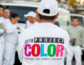 Painting for Charity: Project Color 2018 Mission Accomplished!