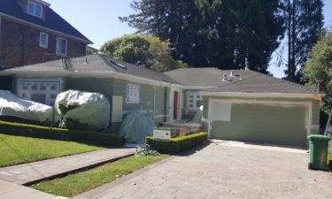Exterior Residential Painting in Piedmont - Don't Miss the Front Door Color!