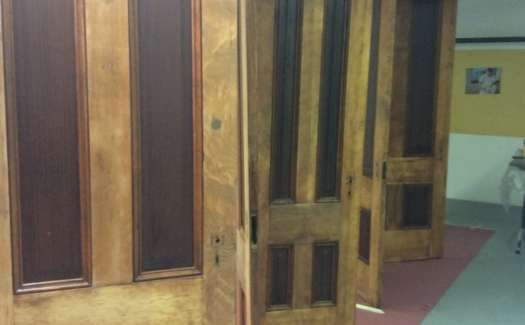 Protecting Seven Beautiful Old Doors - Wood Refinishing in the Bay Area