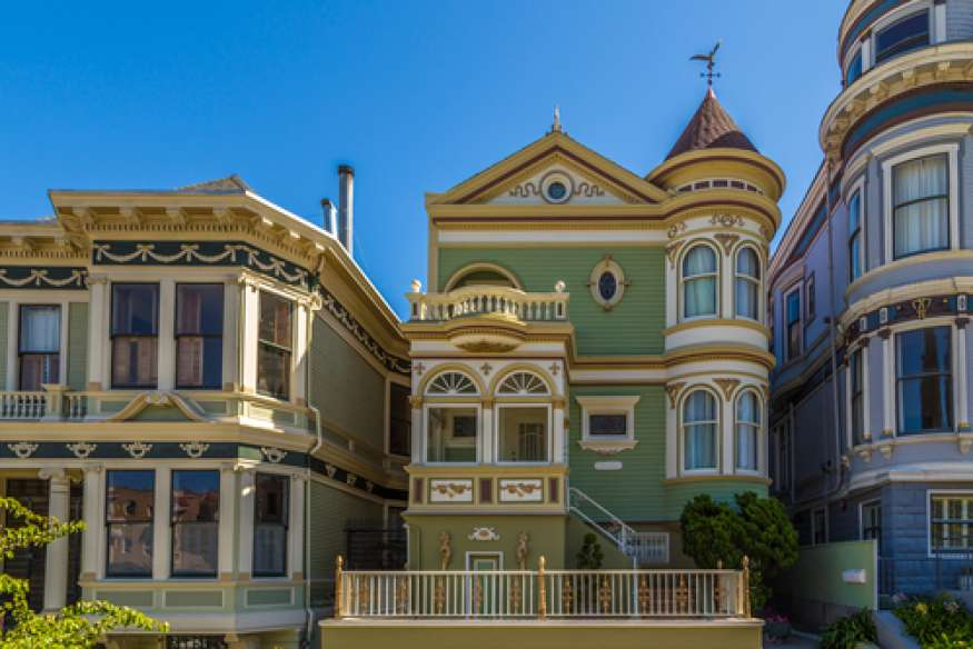 Why we love san francisco victorian homes mb jessee for San francisco victorian houses