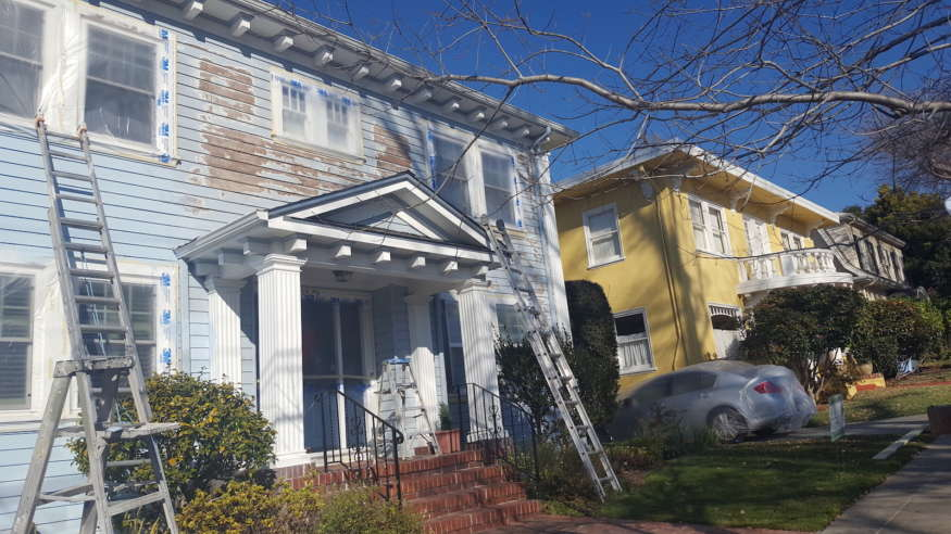 Exterior Painting in Berkeley, CA - What a Transformation!