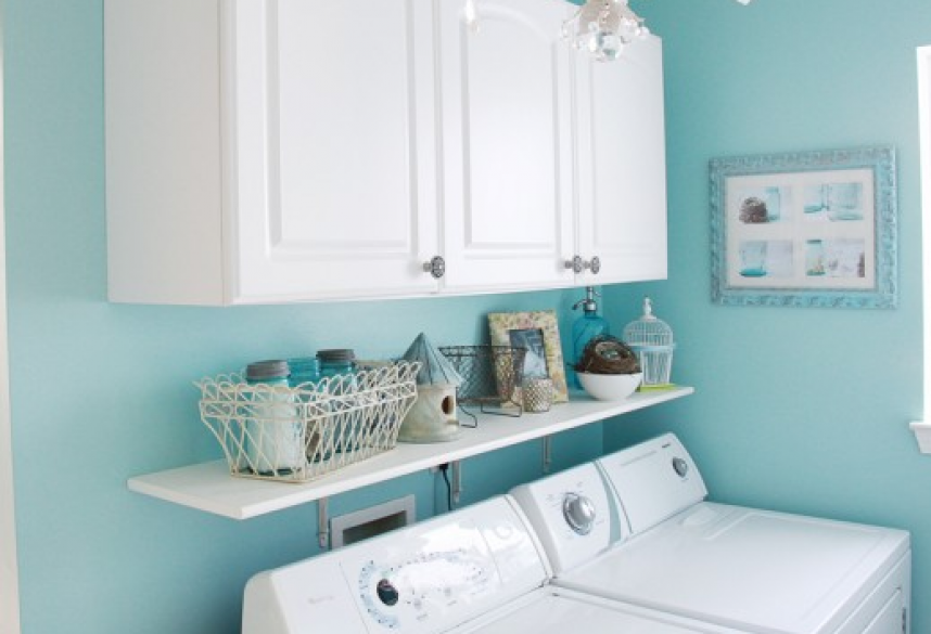 Color ideas for laundry rooms bay area painting tips for Painting ideas for small laundry room