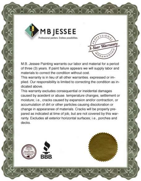 MB Jessee Painting | Your Favorite Contra Costa House Painters