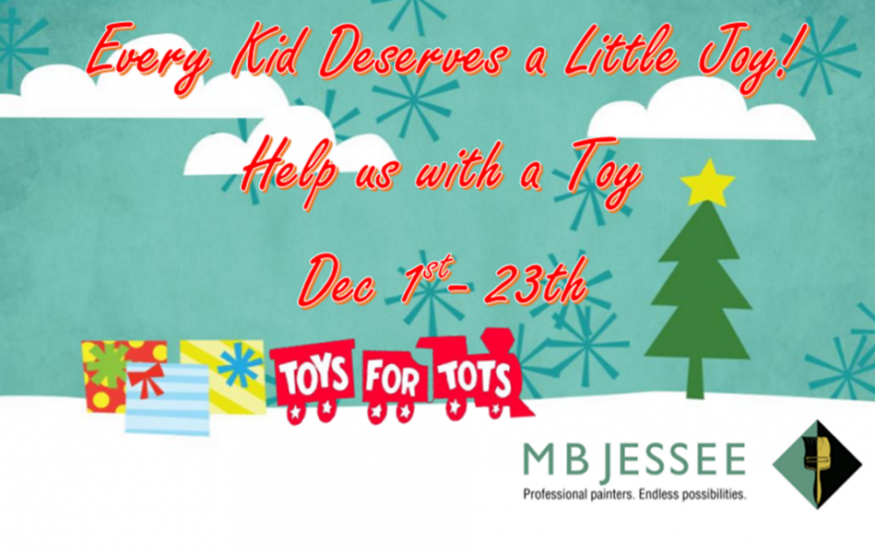 MB Jessee Partners with Piedmont Fire Department to Support Marine Toys for Tots