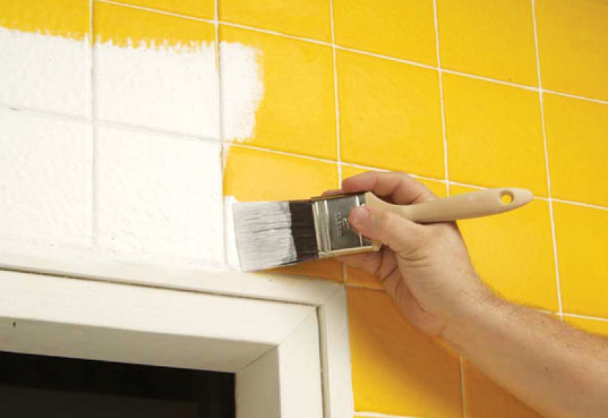 Can i paint over ceramic tile bay area painting info mb jessee - Can i paint over bathroom tiles ...