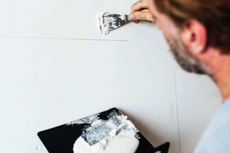 Interior Painting Tips: How to Touch Up a Damaged Wall