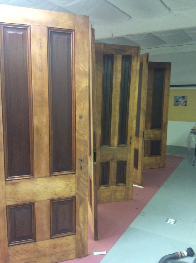 Protecting Seven Beautiful Old Doors   Wood Refinishing In The Bay Area    MB Jessee